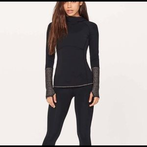 Lululemon Shape Up Pullover (Nulu), size 6!